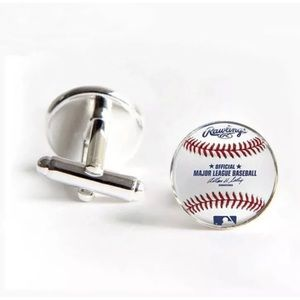 Other - MLB Baseball Cufflinks men's formal jewelry
